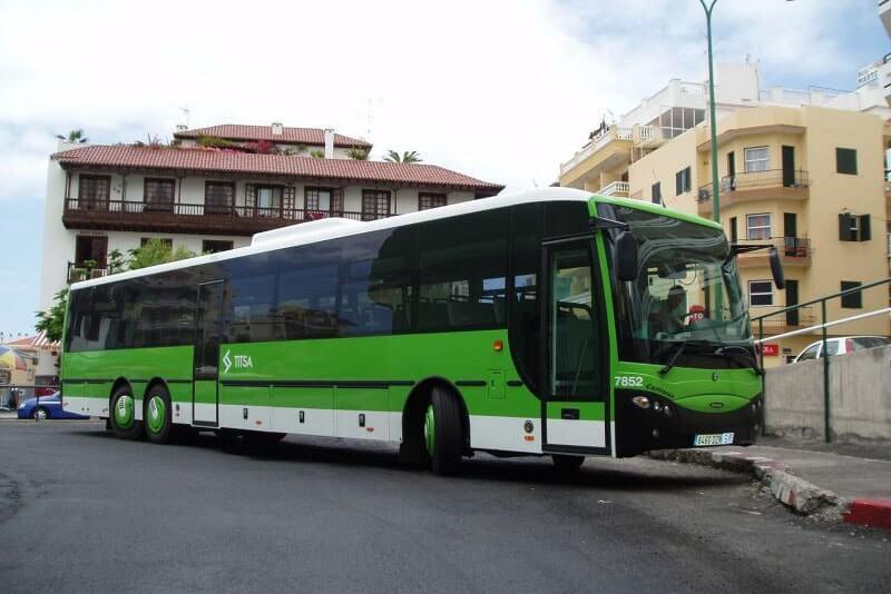 Vacanța în Tenerife - Transport Titsa